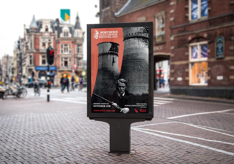 NFTF 2017 Get Carter Poster Design