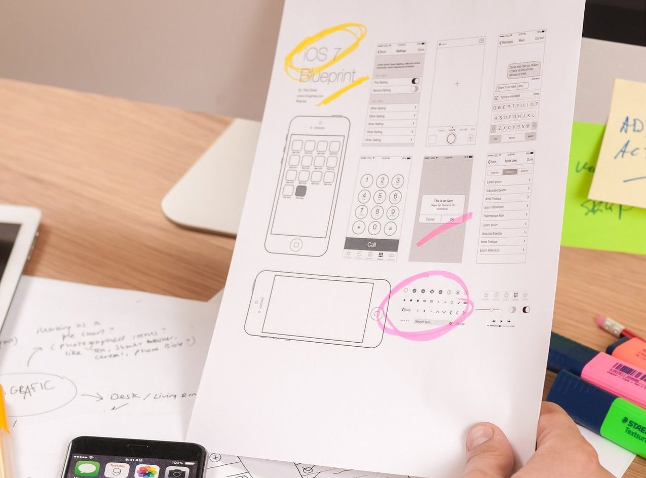 Designing your new website with wireframes